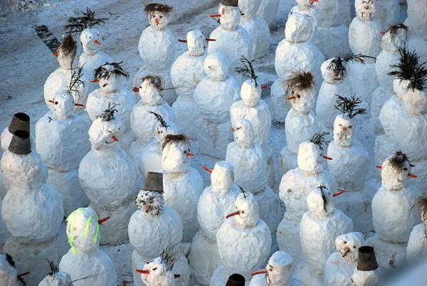 Нашествие снеговиков
