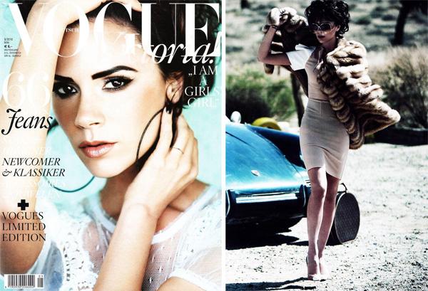 Viktorija Bekhema vācu žurnālam Vogue