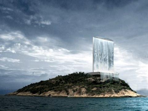 Потрясающий искусственный водопад будет построен в Рио-де-Жанейро