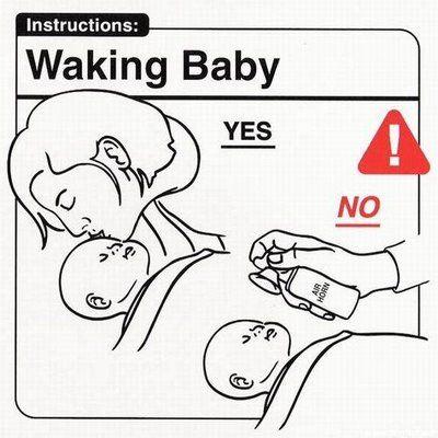 Ko darīt un ko nedarīt ar mazuli