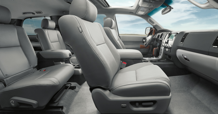 Platinum interior shown in Graphite