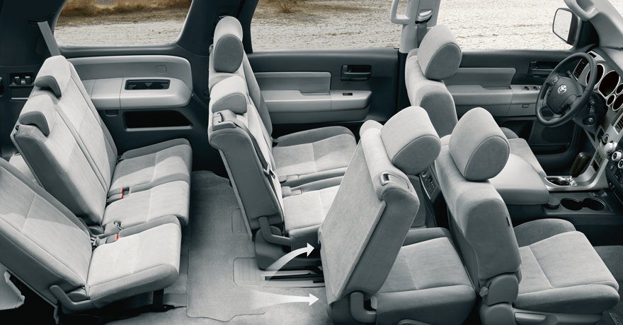 SR5 interior shown in Graphite