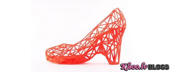 3D-серия обуви Strvct