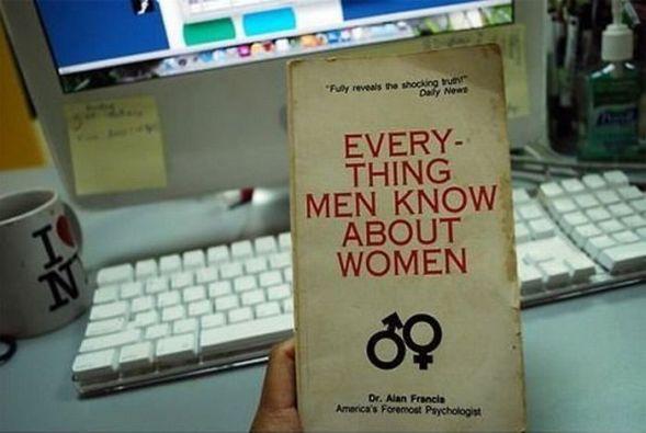 Viss, ko vīrieši zina par sievietēm