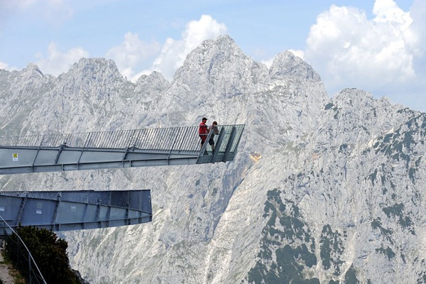Смотровая площадка Alpspix в Баварии