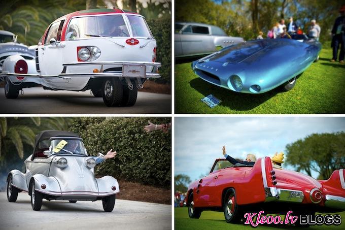 Выставка старинных автомобилей Amelia Island Concours d'Elegance
