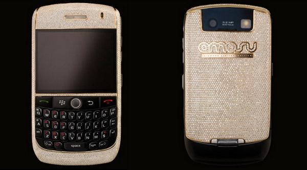 Бриллиантовый Amosu Blackberry