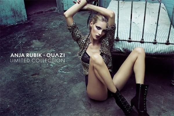 Аня Рубик для Quazi