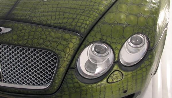 Bentley с кожаным кузовом