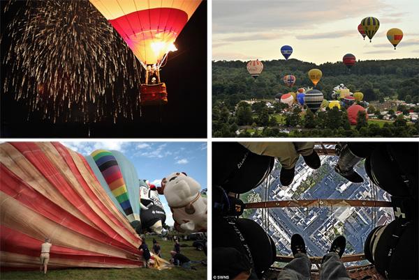 Фестиваль воздушных шаров в Бристоле