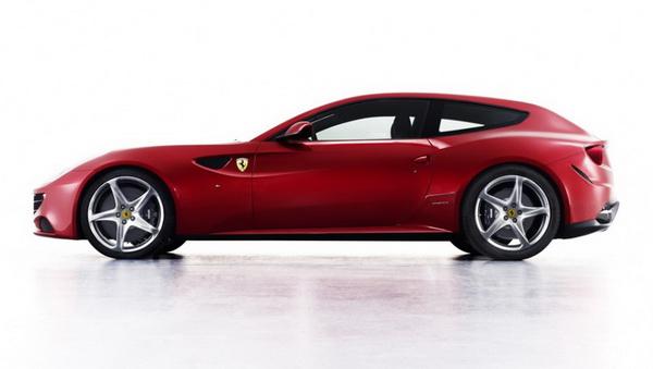 Концепт  Ferrari FF 2012