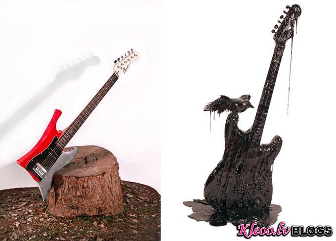 Выставка оригинальных гитар Ideopolis