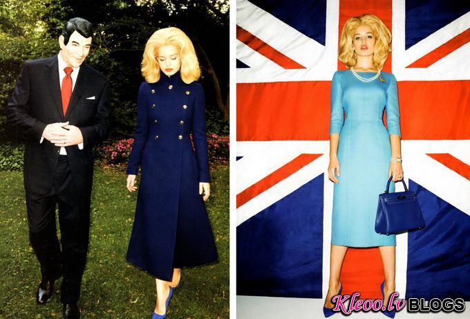 Джорджия Мэй Джаггер и Терри Ричардсон для Harper's Bazaar US