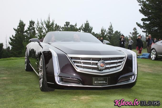 Четырехместный кабриолет Cadillac Ciel