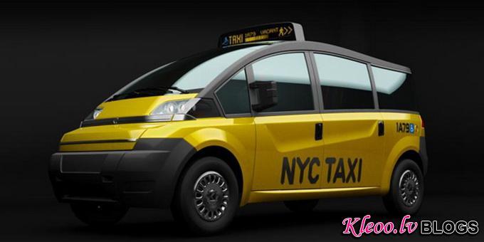 Концепт Karsan V1 New York City Taxi