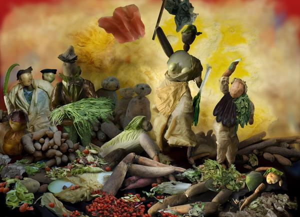 Овощное искусство Ju Duoqi