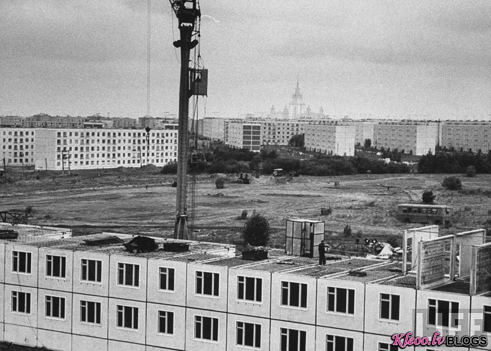 Khrushchyovka10 Как строили хрущевки