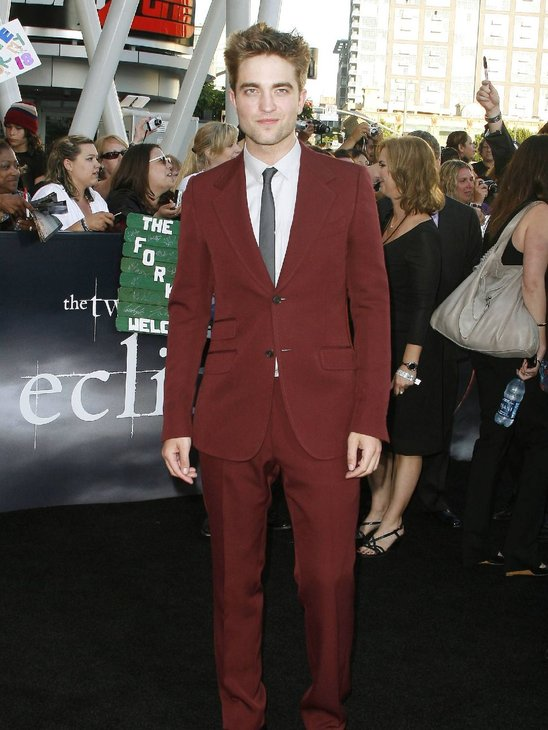 Love that color on you Rob!