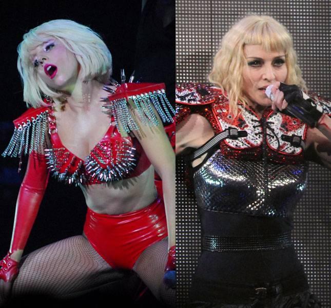 Popmūzikas karaliene kopā... Autors: EuReka Lady Gaga špiko idejas un tērpus