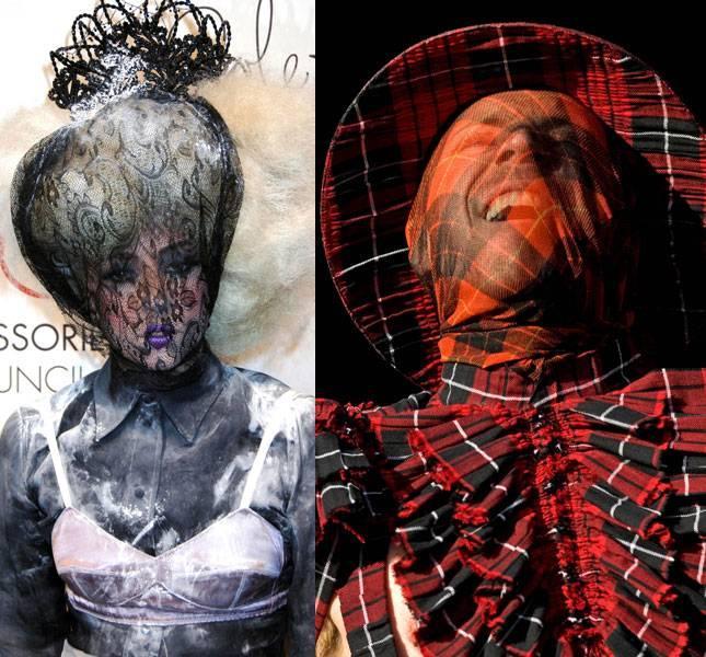 """""""Slavas pirmsākumos... Autors: EuReka Lady Gaga špiko idejas un tērpus"""