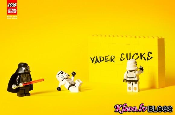 Рекламная серия Lego Star wars