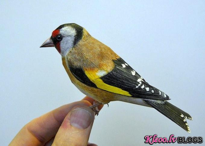 Бумажные птицы Johan Scherft