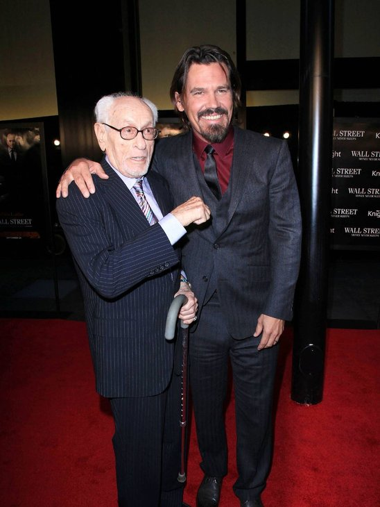 Eli Wallach and Josh Brolin