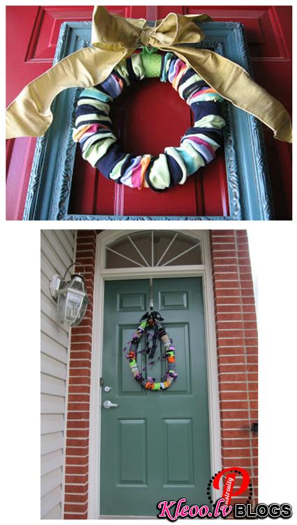 15. The wreath that turned out just a little flaccid