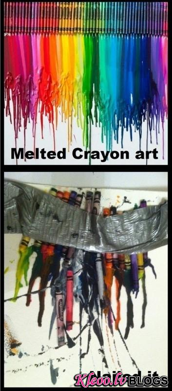 9. An art project they couldn't quit get the hang of