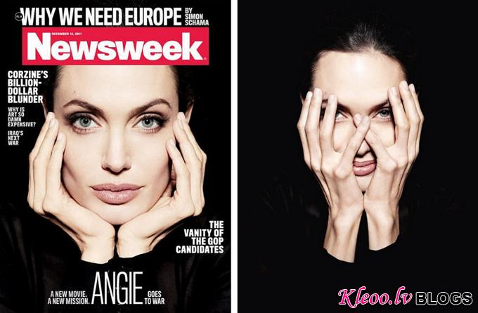 Анджелина Джоли в Newsweek Magazine