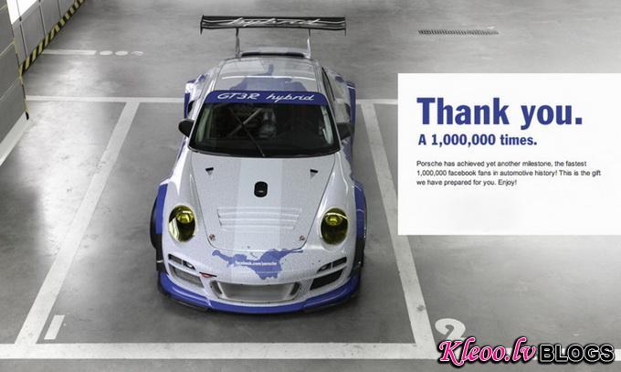 Porsche x Facebook