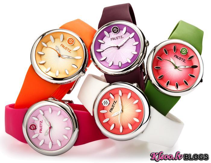 Фруктовая коллекция часов Fruitz by Philip Stein