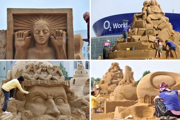 международный фестиваль песчаных скульптур Sandsation