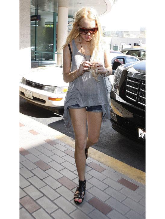 Lindsay Lohan loves shoes!