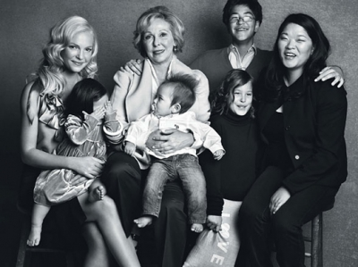 Семейный портрет: звезды со своими близкими