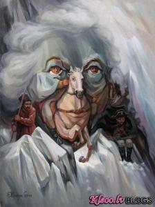 Optiskās ilūzijas no mākslinieka Oleg Shuplyak.