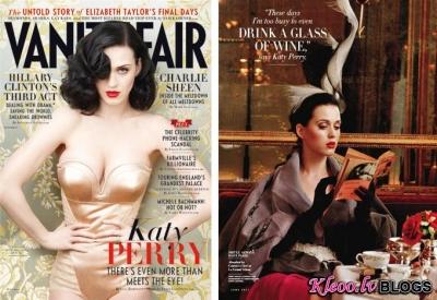 Katy Perry žurnālam Vanity Fair.
