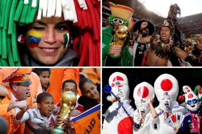 Šī gada futbola čempionāta fani! Labam garastāvoklim :)