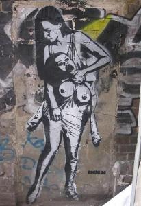 Grafiti - sienas ka lielās tribīnes