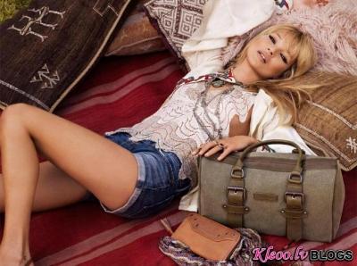 Kate Moss un Longchamp