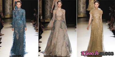 Paris Haute Couture: Elie Saab Fall 2012 Couture.