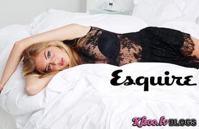 Kate Upton žurnālā  Esquire.