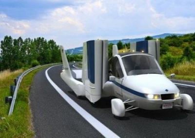 Летающий автомобиль Terrafugia Transition получил обновленный дизайн