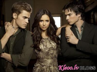 The Vampire Diaries aizkulises