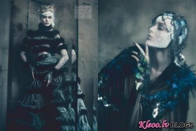 Vogue Italy septembrī.