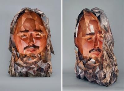Papīra skulptūras no Susan Oliveira