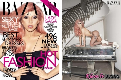 Lady GaGa žurnālam Harper's Bazaar US.