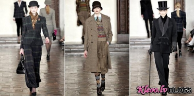 Ralph Lauren rudens 2012 | New York Fashion Week.