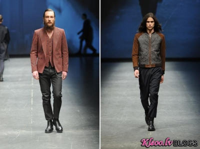 Diesel Black Gold tērpi  Milano Moda Uomo AW 2012 ietvaros.