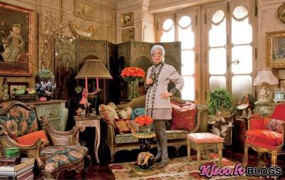 Iris Apfel māja Ņujorkā.
